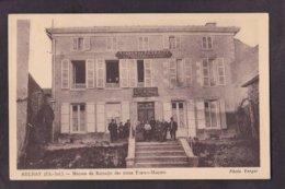 CPA Franc Maçonnerie Maçonnique Masonic Aulnay Charente - Philosophie & Pensées