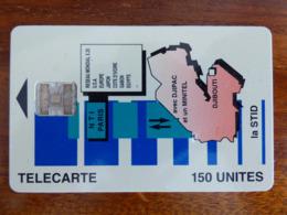 Télécarte De Djibouti - SC7 ISO - 150U - Numéros Rouges C5A154110 - Djibouti