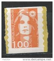 France 1996 Timbre Adhésif Neuf ** Issu De Carnet N° 3009 (adh 8) Cote 5 Euros - Unused Stamps
