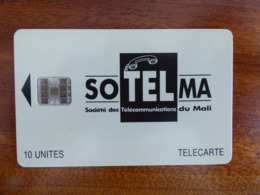 Télécarte Du Mali - 10U - SC7 ISO - Sans Trou - Numéros Rouges C47145644 - Mali