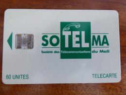 Télécarte Du Mali - 60U - SC7 ISO - Sans Trou - Numéros Rouges C46145585 - Mali