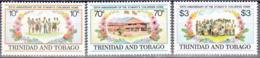 TRINIDAD AND TOBAGO     SCOTT NO 416-18    MNH    YEAR  1984 - Trinidad & Tobago (1962-...)