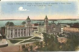 Brasil - Porto Alegre - Correios E Telegrapho E Delegacia Fiscal - Porto Alegre