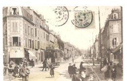 CPA Limoges (87) Faubourg De Paris Ecrite En 1906 - Limoges