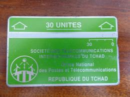 Télécarte Holographique Du Tchad - 30U - TBE - Dos Noir - Tsjaad