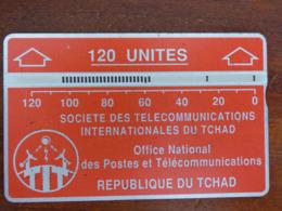 Télécarte Holographique Du Tchad - 120U - BE - Dos Noir - Tchad