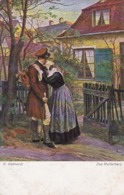 AK K. Gebhardt - Das Mutterherz - Künstlerkarte - Ca. 1910 (44598) - Pittura & Quadri