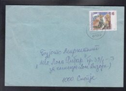 REPUBLIC OF MACEDONIA, 2001, COVER, MICHEL 227 - EASTER - Cristianesimo