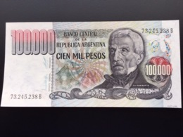 ARGENTINA P308 100000 PESOS 1979-1983 UNC - Argentina