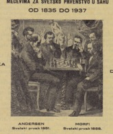 """CHESS Magazine 1937 -ANDERSSEN Vs MORPHY - """"World Chess Championship"""" NOT POSTCARD 16 Pages (see Sales Conditions) - Scacchi"""