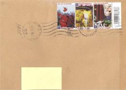 BELGIO - 2019 Lettera Per L'estero Con 3 Francobolli ARTE DEI GRAFFITI - 4541 - Cartas