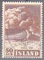 ICELAND    SCOTT NO 249    USED    YEAR  1948 - Usati