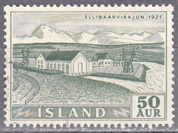ICELAND    SCOTT NO 290    USED    YEAR  1956 - Usati