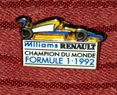 WILLIAMS RENAULT, CHAMPION DU MONDE FORMULE 1 - 1992. - Automobile - F1