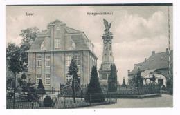 D-9827  LEER : Kriegerdenkmal - Leer