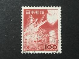 ◆◆◆ Japón 1952-59 2nd Unit (Without *00*.)   100 Yen USED   AA4885 - 1926-89 Emperor Hirohito (Showa Era)