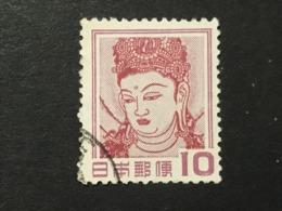 ◆◆◆ Japón 1952-59 2nd Unit (Without *00*.)   10 Yen USED   AA4886 - 1926-89 Emperor Hirohito (Showa Era)