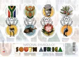 South Africa - 2012 National Symbols Sheet (o) - Afrique Du Sud (1961-...)
