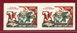 S.Vietnam 1969 #M3, Imperf Horizontal Pair, SCV $130.00 - Vietnam