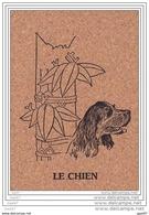 Cpsm En Liege Réf Z0.753        LE    CHIEN - Chiens