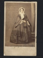 Fotografia DUQUESA De PALMELA. F.A.Gomes PHOTOGRAPHO De Suas Magestades. Old CDV Photo PORTUGAL 1880s - Anciennes (Av. 1900)