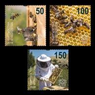 Kyrgyzstan (KEP) 2019 Mih. 140/42 Fauna. Beekeeping In Kyrgyzstan. Bees MNH ** - Kyrgyzstan
