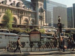 CPSM 75 PARIS 12e Station Métro GARE DE LYON Style Guimard La Gare De Lyon Edition Yvon - Stations, Underground