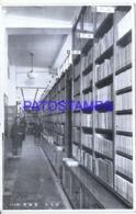 122568 JAPAN HELP INTERIOR LIBRARY POSTAL POSTCARD - Japan