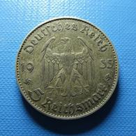 Germany 5 Reichsmark 1935 J Silver - 5 Reichsmark