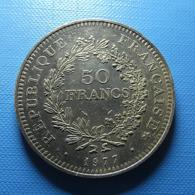 France 50 Francs 1977 Silver - M. 50 Franchi