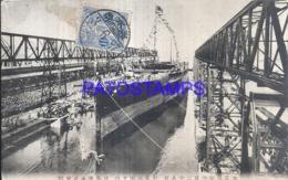 122582 JAPAN HELP VIEW SHIP POSTAL POSTCARD - Japan