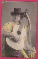 Malaguita - Artista España - Femme Artiste Avec Guitar - 1906 - Künstler