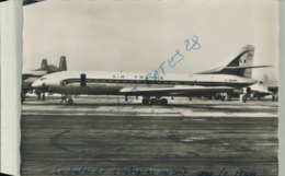 CPA 13 MARSEILLE  Aeroport De Marignane Carrfour Du Monde   - Air France - Caravelle  - OCT 2019 Chris  525 - 1946-....: Era Moderna