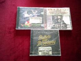 COLLECTION DE 3 CD ALBUMS  DE BANDE ORIGINAL DE  FILM ° BLADE 2 + BATMAN + BULLETS  OVER BROADWAY - Filmmusik
