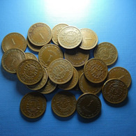 Portuguese India Lot 25 Coins 1 Tanga 1952 - Lots & Kiloware - Coins
