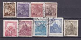263i * BÖHMEN UND MÄHREN 64/72 * FREIMARKEN * MICHEL 1,70 * GESTEMPELT ** !! - Used Stamps