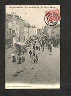 88 - CHARMES S/MOSELLE - Rue Des Capucins - Un Jour De Marché - 1906 ,#88/042 - Charmes