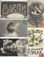 LOT DE 500 CARTES FANTAISIES DIVERS. A VOIR BEAU - Postkaarten