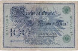 Allemagne - Billet De 100 Mark - 7 Février 1908 - Sceau Vert - 100 Mark