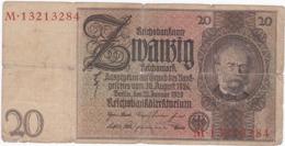 Allemagne - Billet De 20 Reichsmark - 22 Janvier 1929 - Werner Von Siemens - [ 3] 1918-1933: Weimarrepubliek