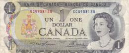 Canada - Billet De 1 Dollar - Elizabeth II - 1973 - Canada