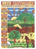 VILLEFRANCHE DE LONCHAT DORDOGNE - FETE CANTONALE 25 JUILLET 2010, CREATION JOHAN BERNARD - SAINT ANTOINE DE BREUILH - Other