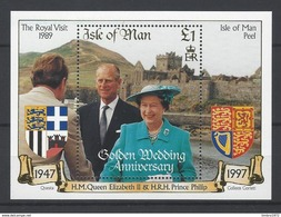 Isle Of Man Blok Blok 34** - Man (Ile De)