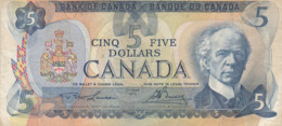 Canada - Billet De 5 Dollars - Wilfrid Laurier - 1979 - Canada