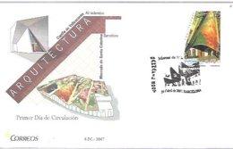 FDC 2007  BARCELONA - 1931-Hoy: 2ª República - ... Juan Carlos I
