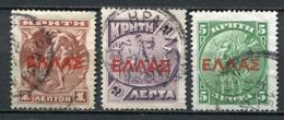 Kreta Nr.55/7      O  Used           (002) - Kreta