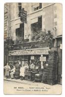 41 BLOIS BAR MARCEL Café Restaurant Huitres Succ. Tony Moulier PLACE A LA FILLASSE CPA 2 SCANS - Blois
