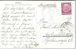 CARD  1936   FUNCHAL  MADEIRA - Germania
