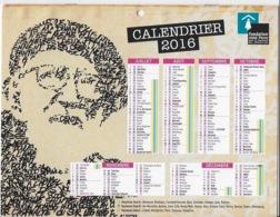 Calendrier Abbé Pierre 2016 - Calendarios