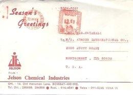 LETTER 1984 INDIA - Química
